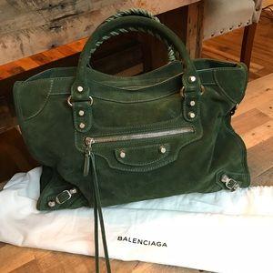 Like new Suede Balenciaga bag
